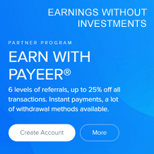 Earn with Payeer