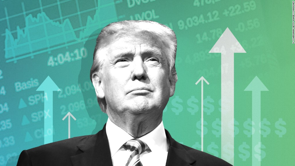 Stocks hit record again. Is Trump the reason?